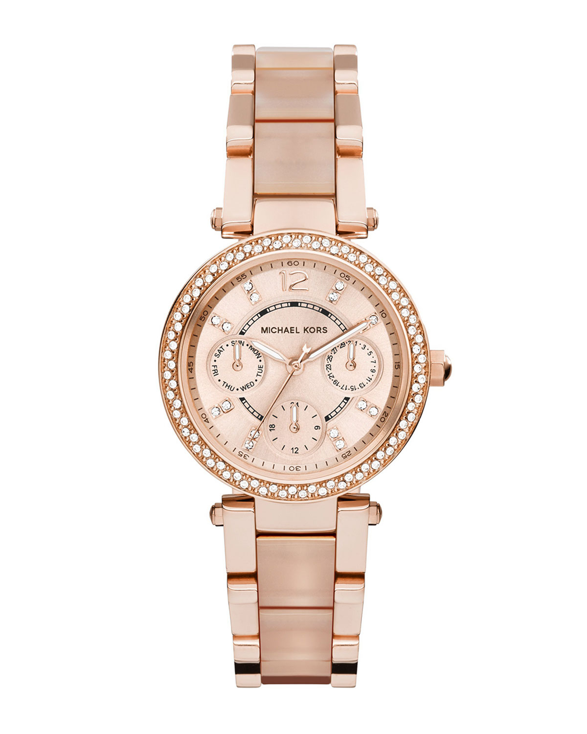 how to clean rose gold michael kors watch