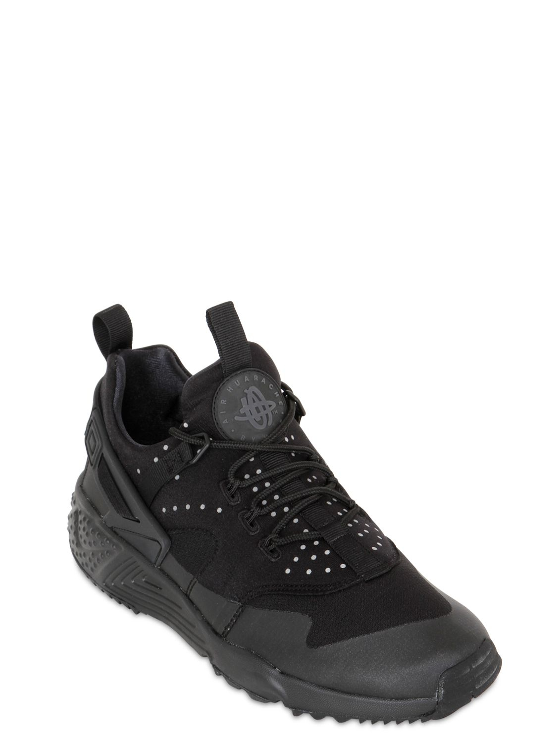 info for 624be c11b6 Nike Air Huarache 2 3 Utility Sneakers in Black for Men - Lyst