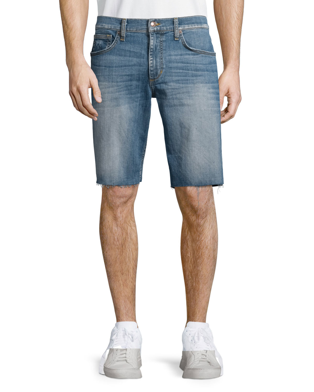 Joeu0026#39;s jeans Cutoff-hem Denim Shorts in Blue for Men   Lyst