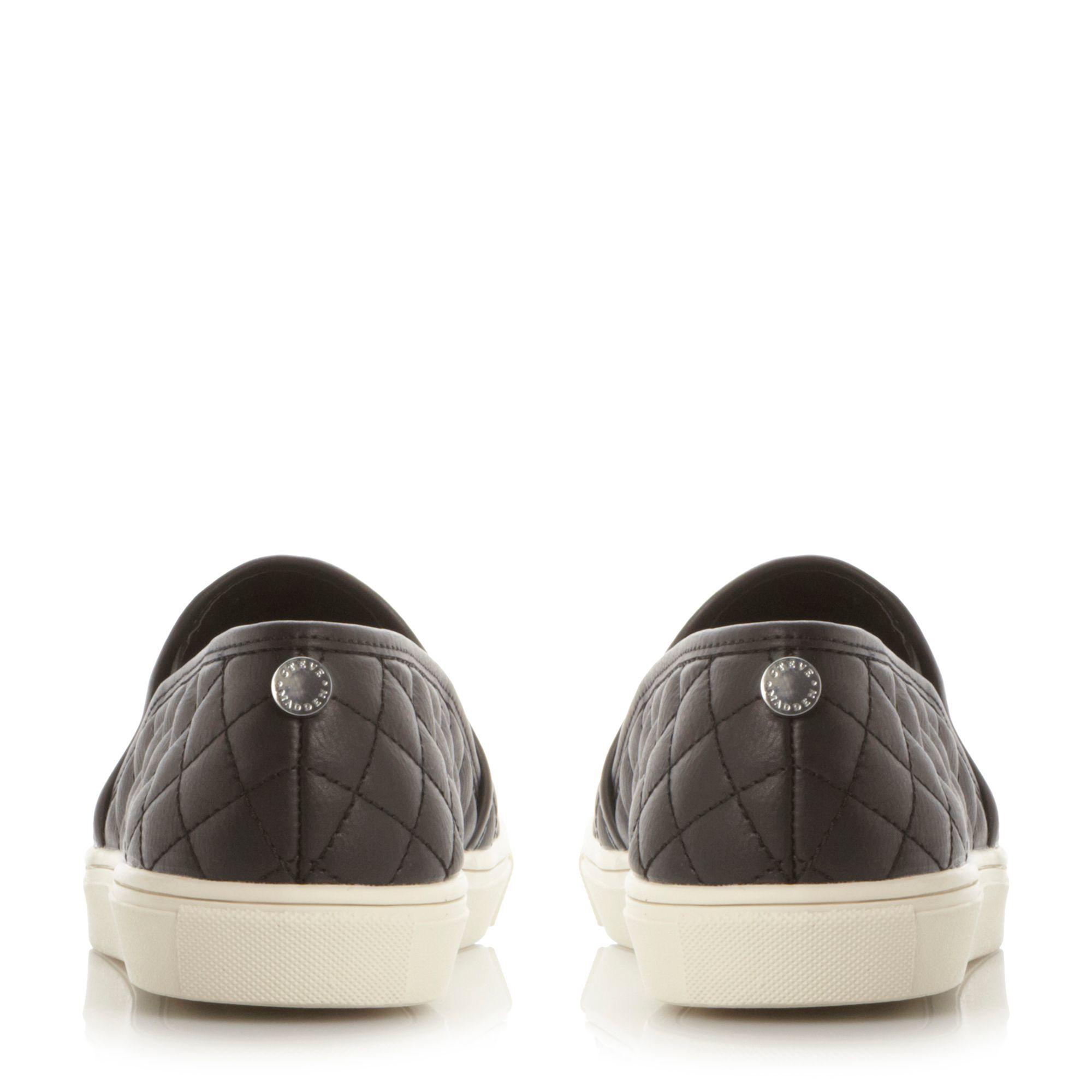 Steve Madden Ecentrcq Slip On Sneakers in Black