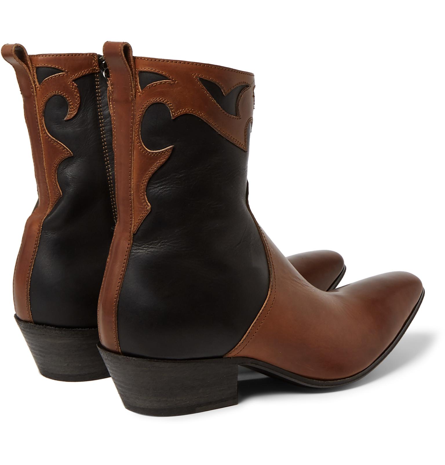Haider Ackermann Black Suede Virgil Boots lV7rBZD