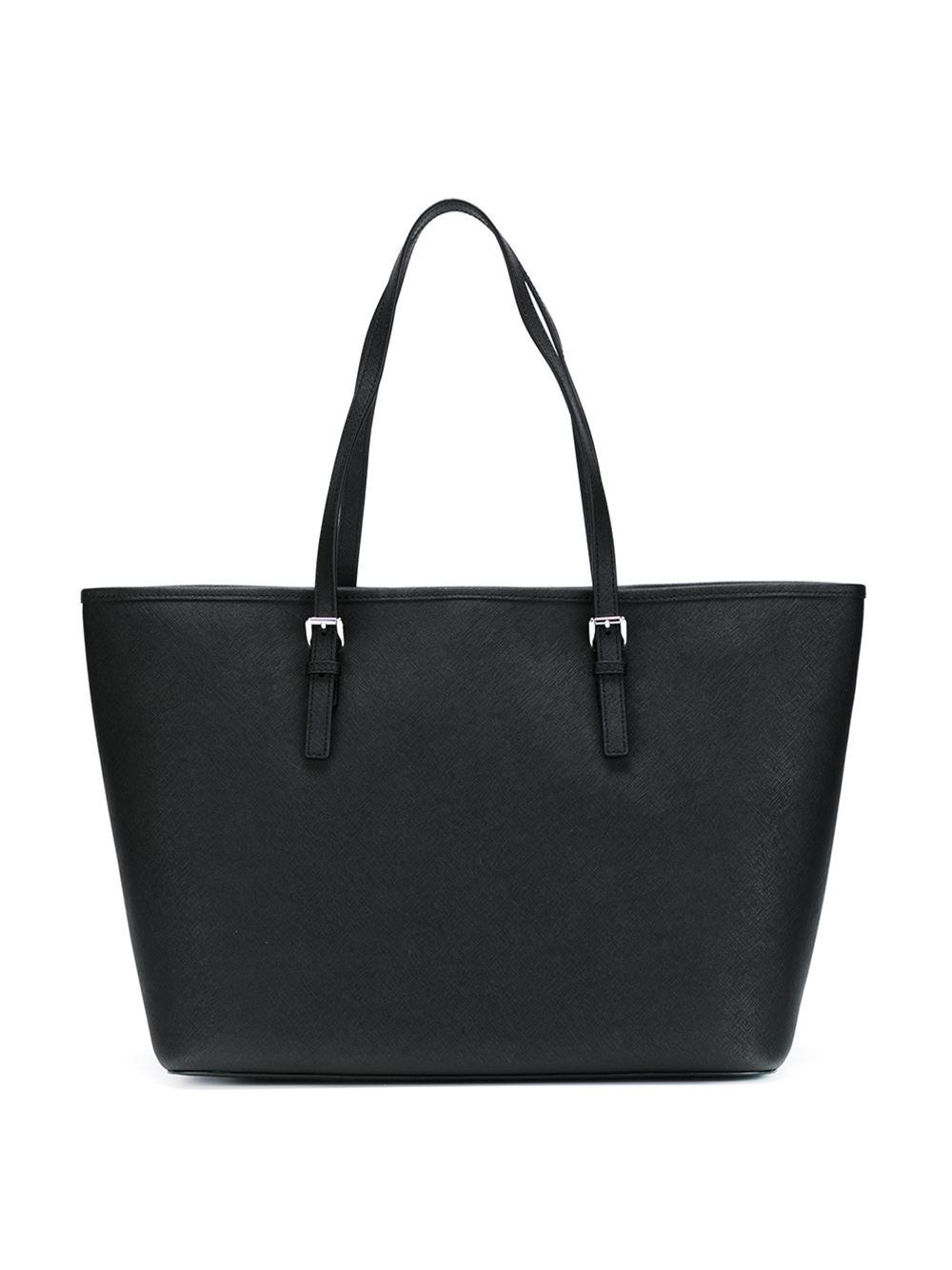 MICHAEL Michael Kors 'jet Set Travel' Tote Bag in Black