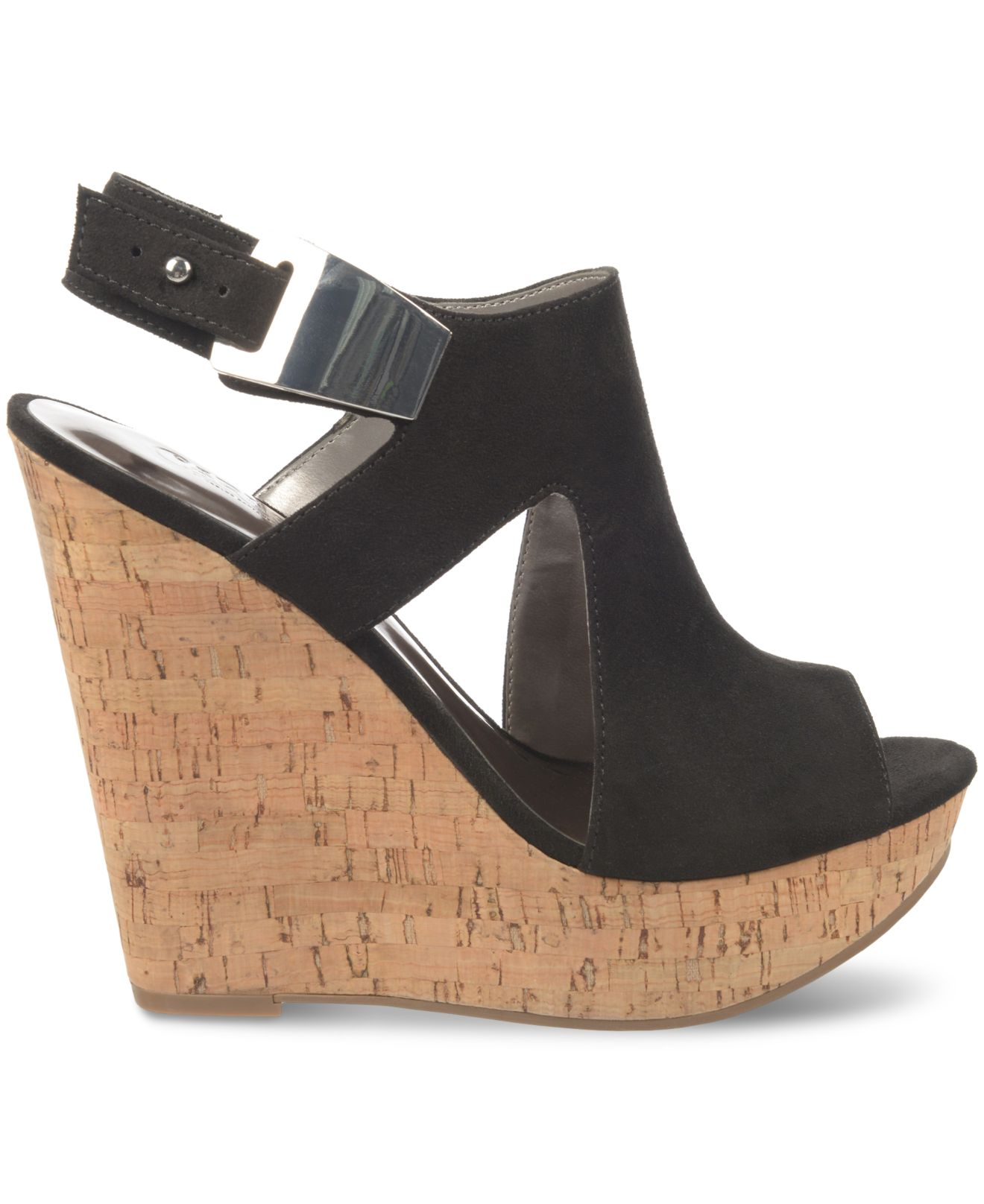 carlos by carlos santana malor platform wedge sandals in