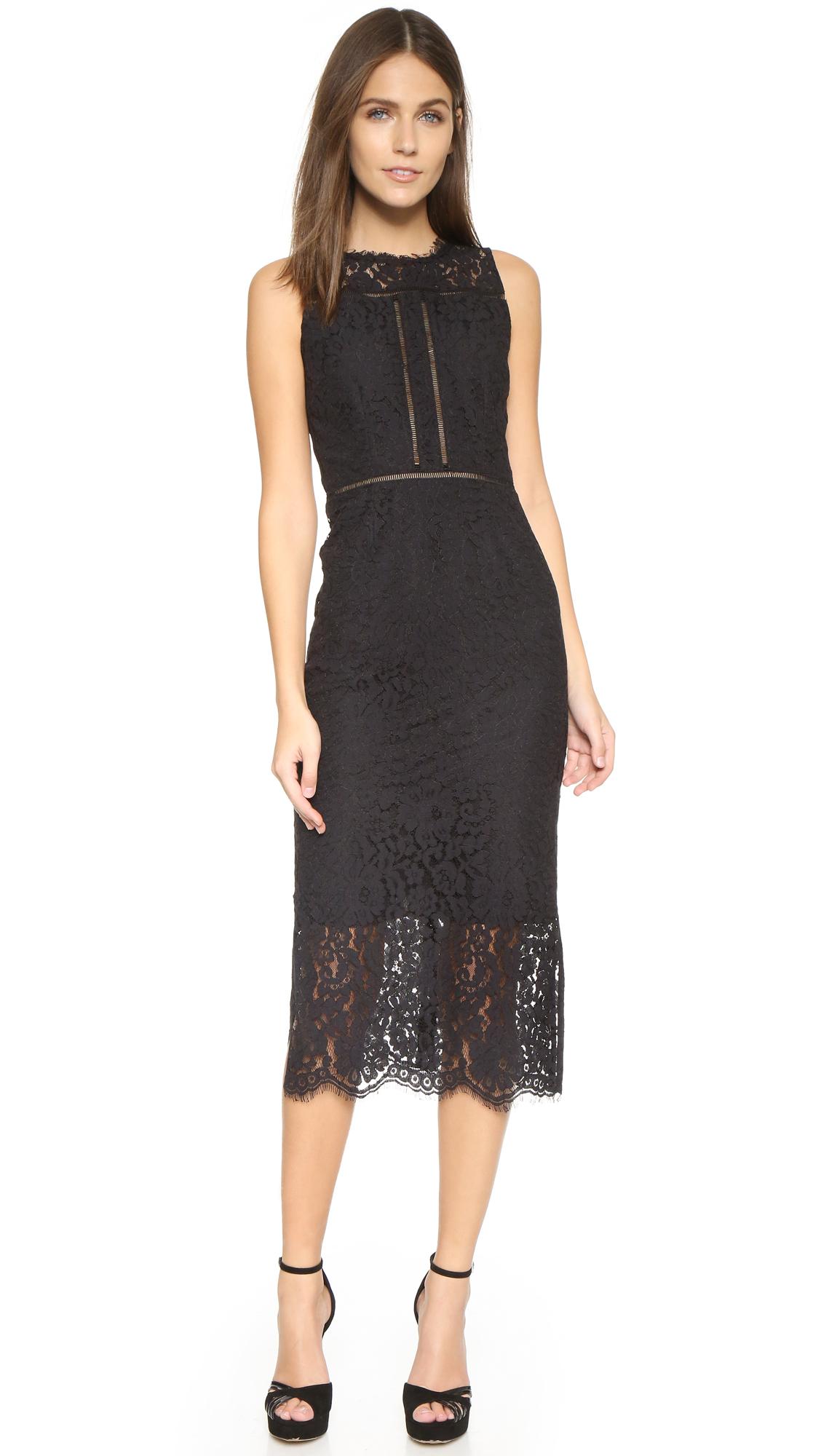 lace midi dress - photo #28