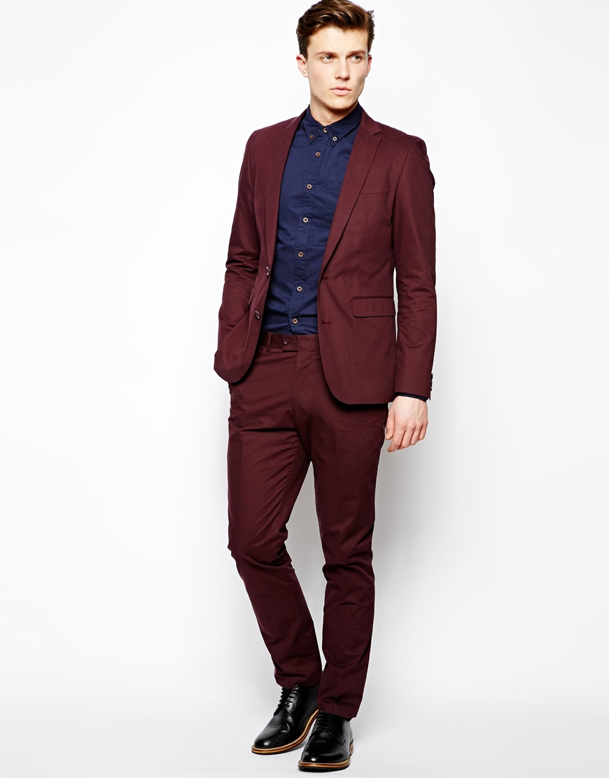 "Don't be intimidated by the emphasis on ""slim."" While slim fit suit jackets have a narrower cut and higher armholes to project a trim look, they can be worn by a variety of men. Accurate measurements are essential with any suit, but especially so with apparel tailored to contour to the body. This suit forgoes excess fabric in the jacket."