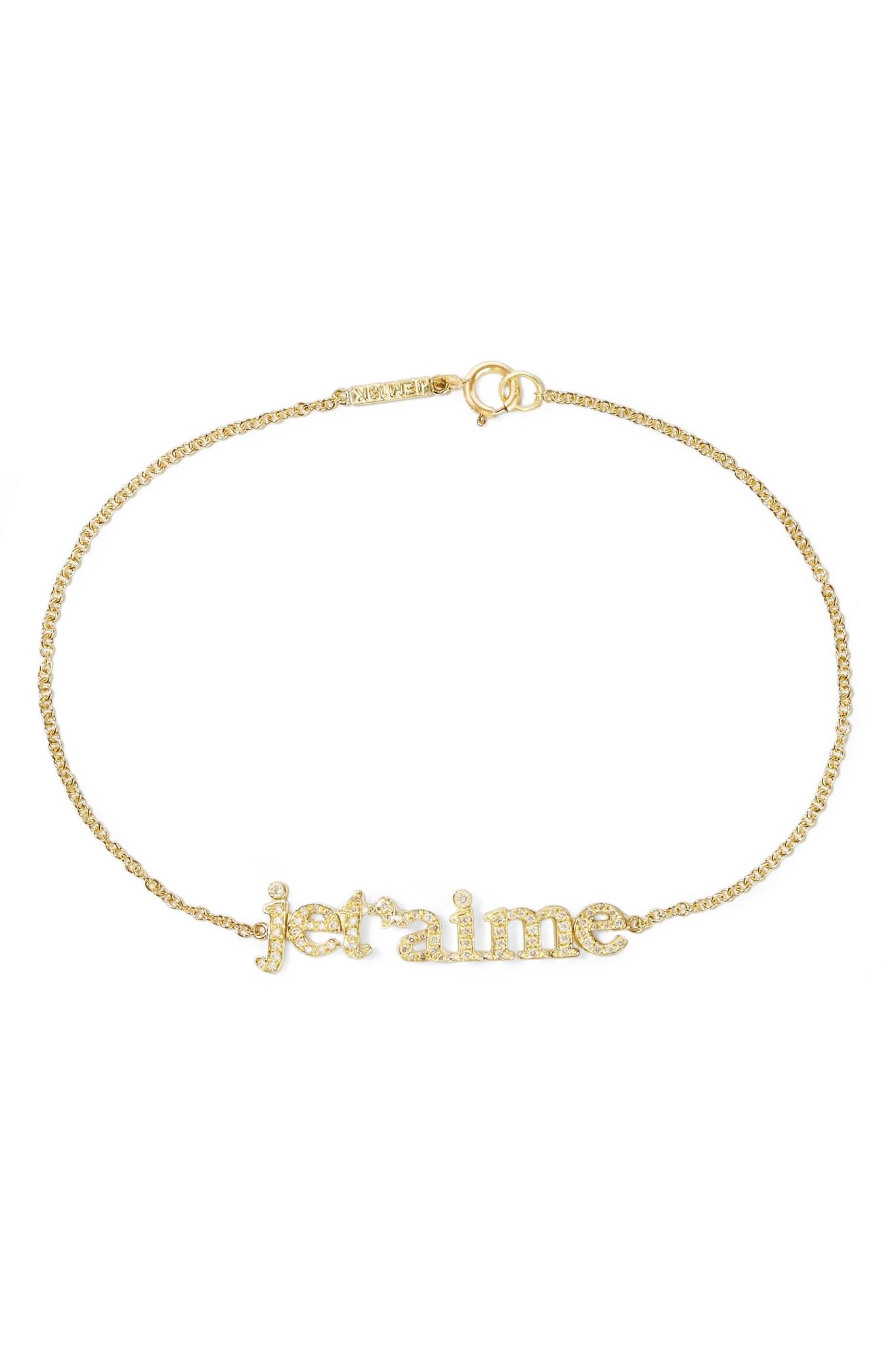 Jennifer Meyer Love 18-karat Gold Bracelet mAict7DX3