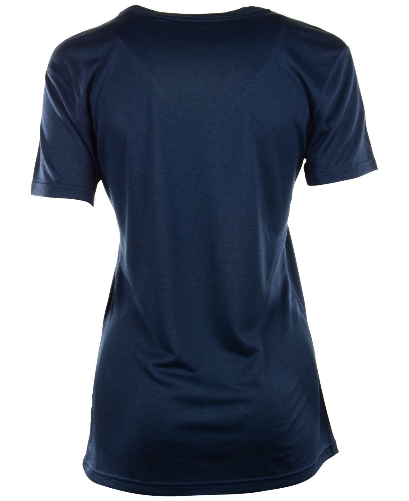 Lyst nike women 39 s new york yankees legend dri fit t for Nike dri fit t shirt ladies