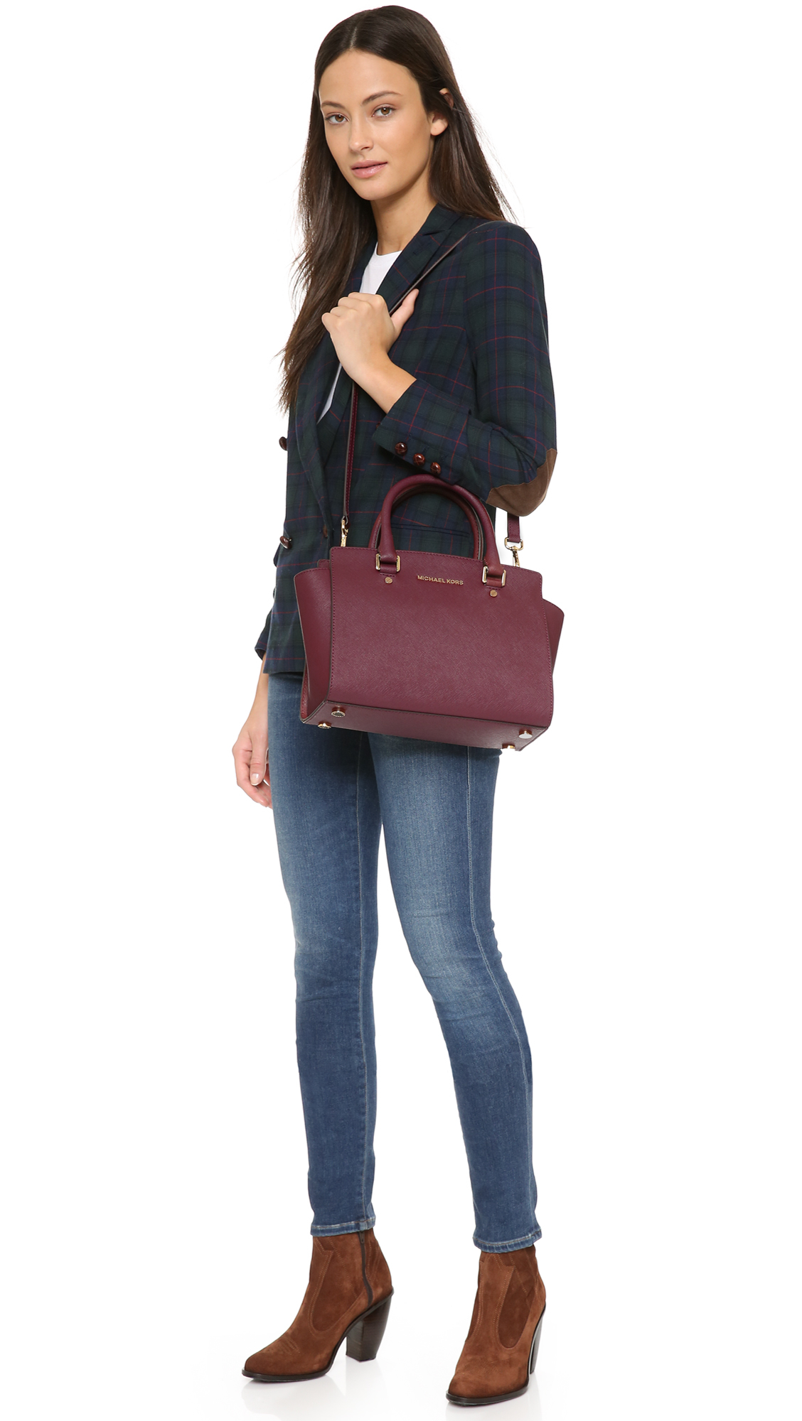 480711d745d7 Gallery. Previously sold at: Shopbop · Women's Michael By Michael Kors Selma  ...