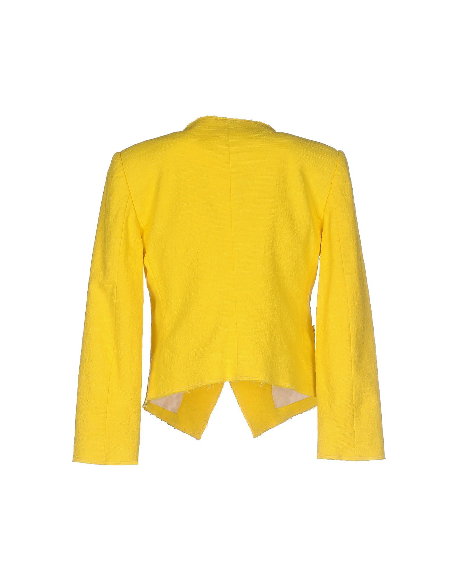 Band of Outsiders Tweed Blazer in Yellow