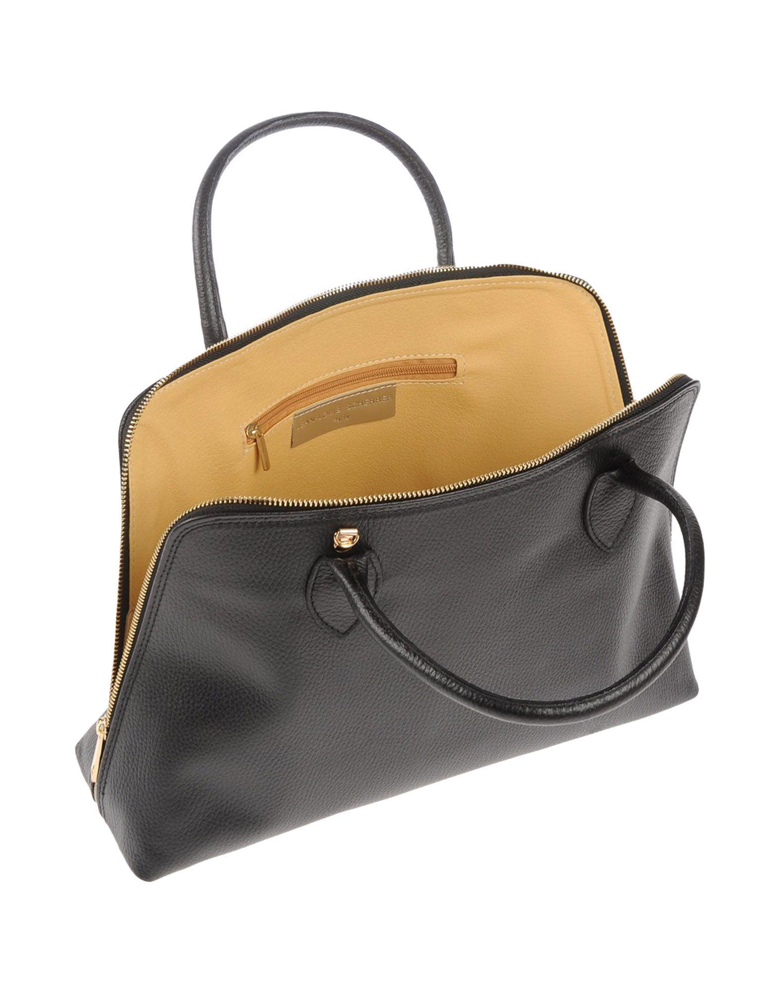 jean louis scherrer handbag in black lyst. Black Bedroom Furniture Sets. Home Design Ideas