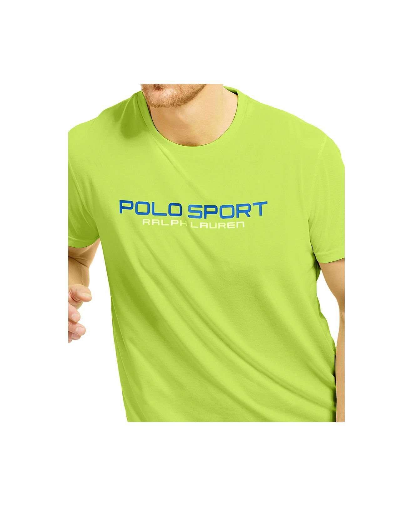 polo ralph lauren polo sport performance jersey t shirt in. Black Bedroom Furniture Sets. Home Design Ideas