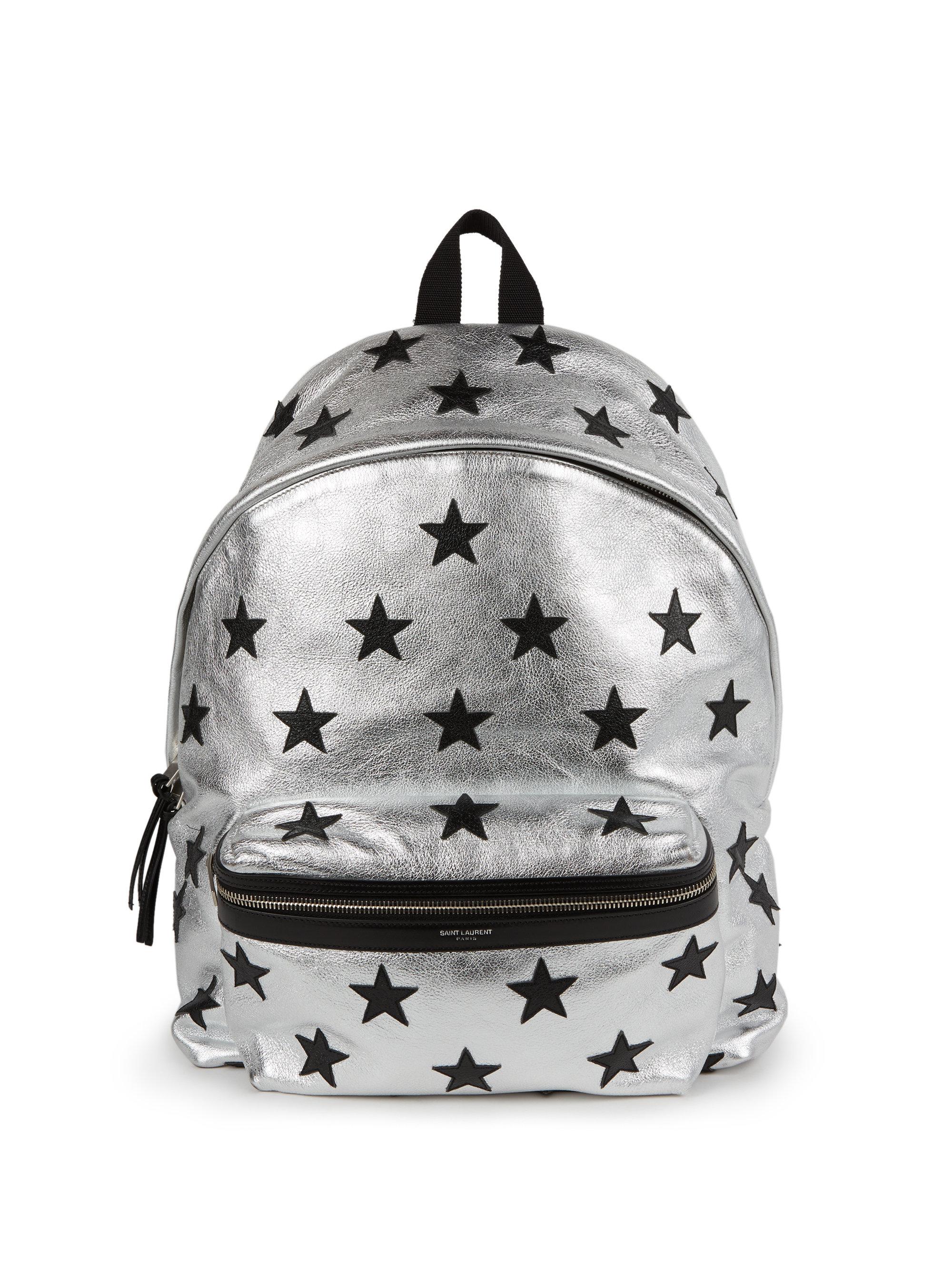 c67474942d35 Lyst - Saint Laurent Classic Hunting California Star Backpack in ...