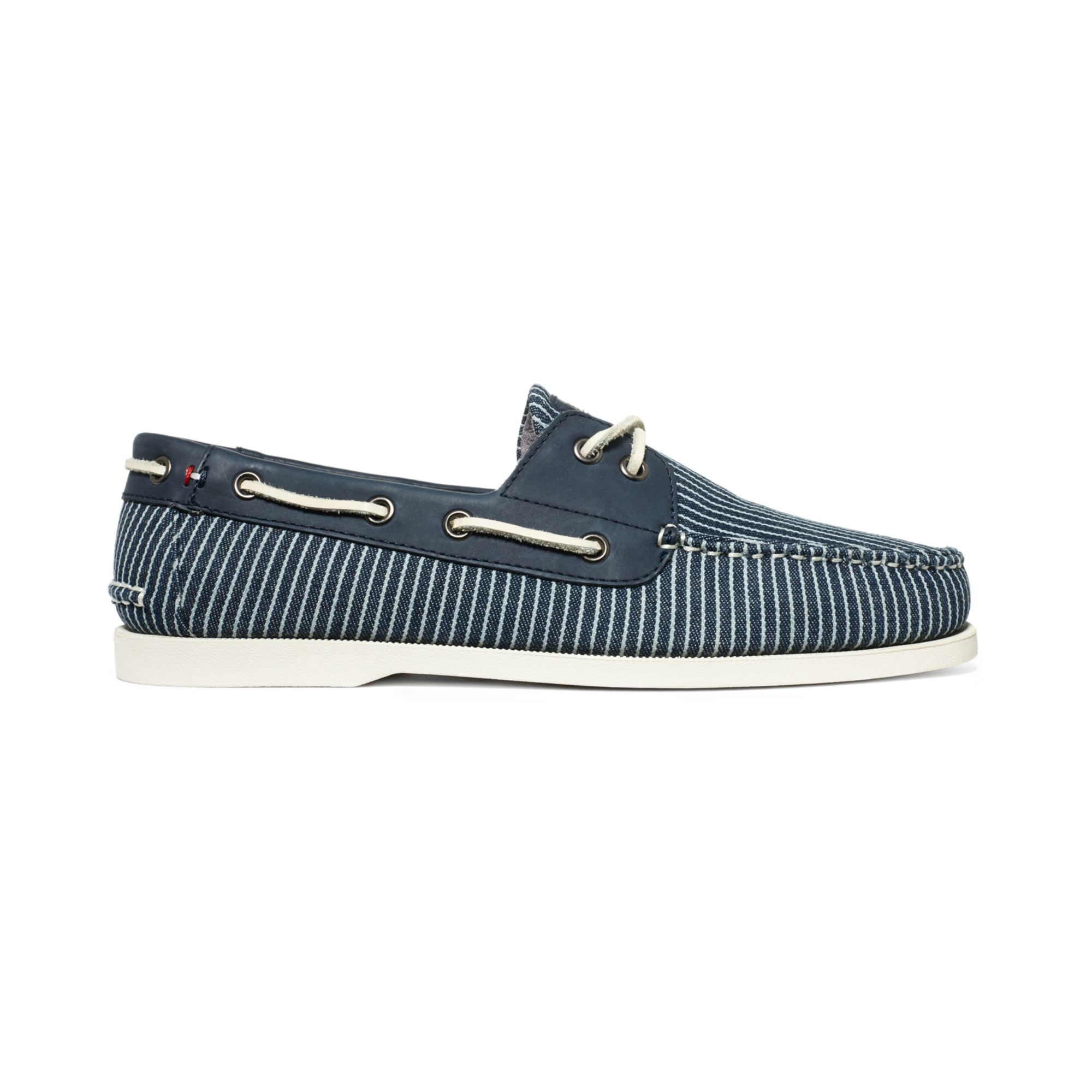 9c541a016fb7e Lyst - Tommy Hilfiger Bowman 2 Boat Shoes in Blue for Men