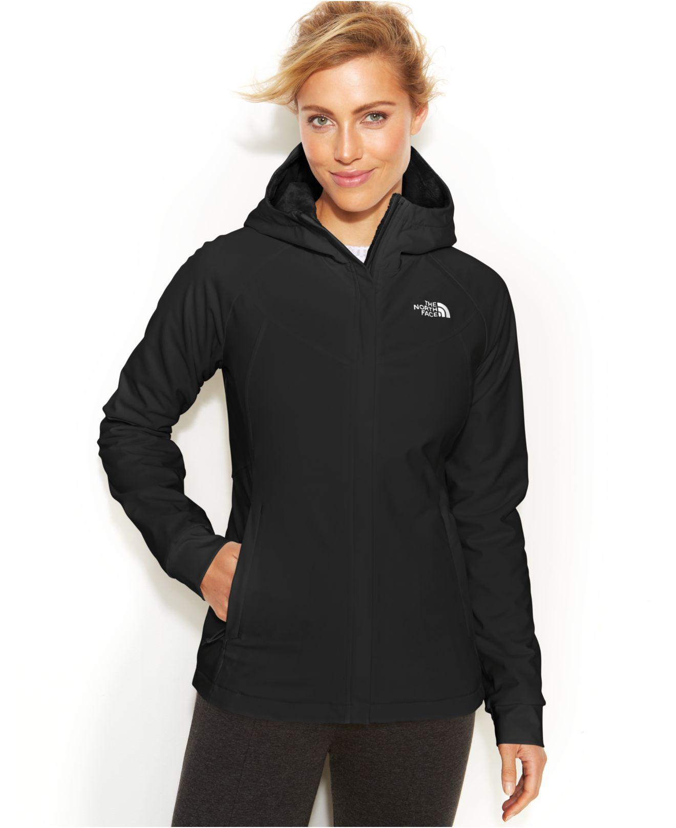 1f72339b1 The North Face Black Maddie Raschel Hoodie Jacket