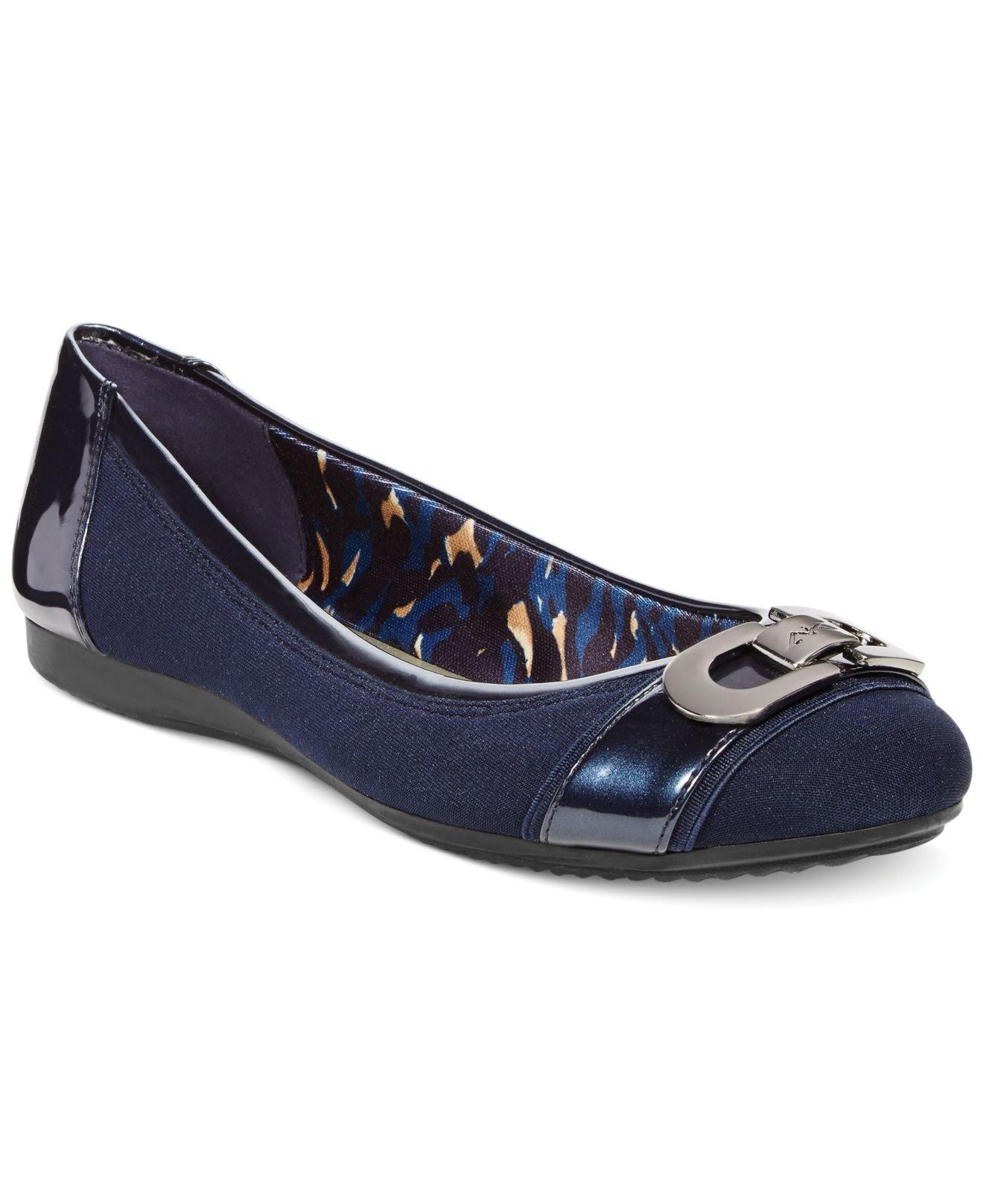 Fabric Flats Womens Shoes