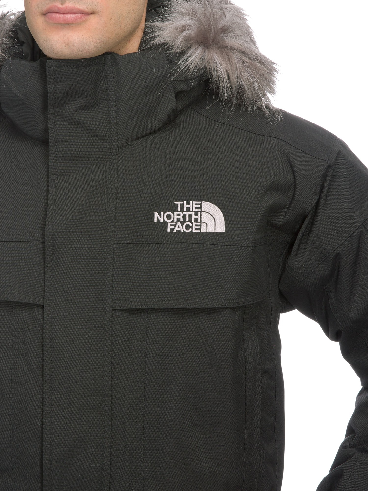 b24199786ae The North Face Men'S Mcmurdo Parka Jacket in Black for Men - Lyst