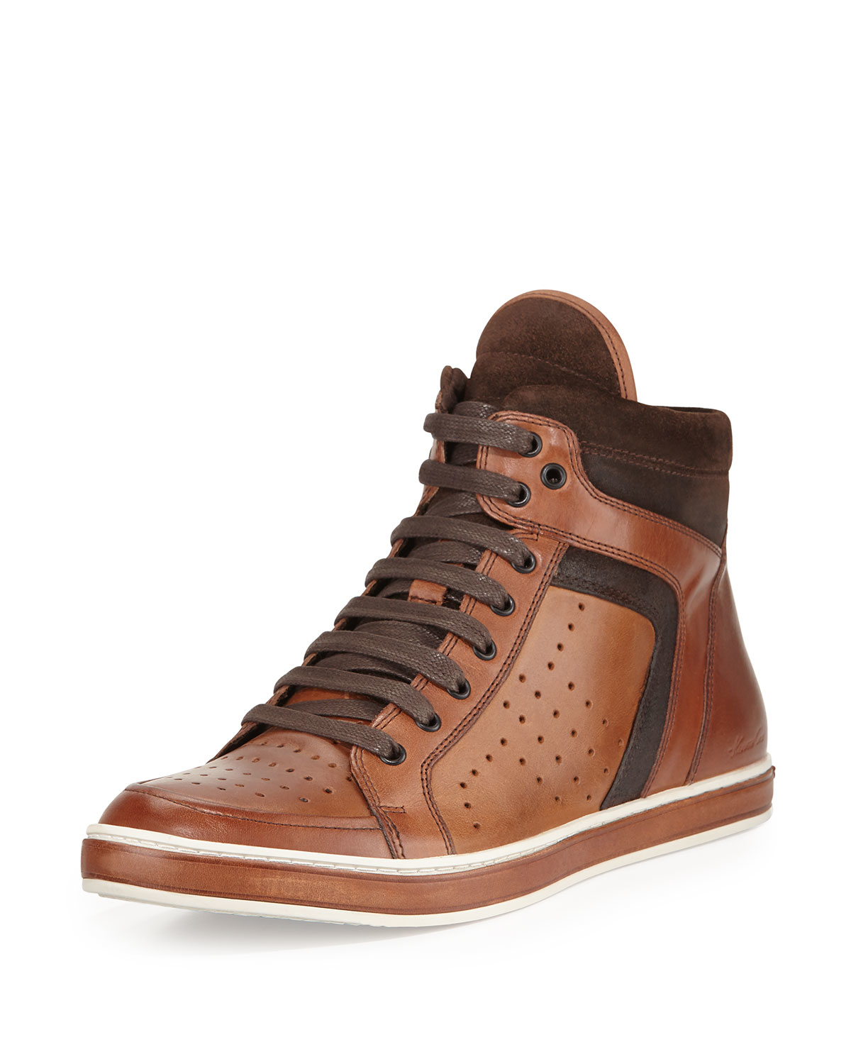 kenneth cole mens high top sneakers