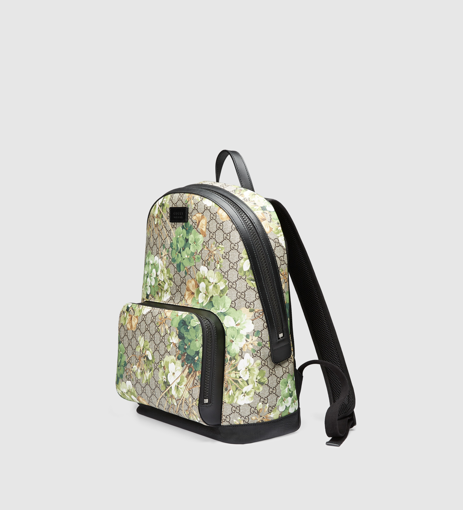 c3a2cdd6aaa Lyst - Gucci Gg Blooms Backpack in Green for Men