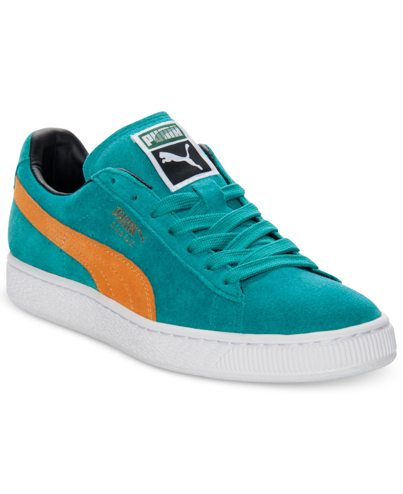 Lyst - PUMA Men S Suede Classic Casual Sneakers From Finish Line in ... 68d33bf58