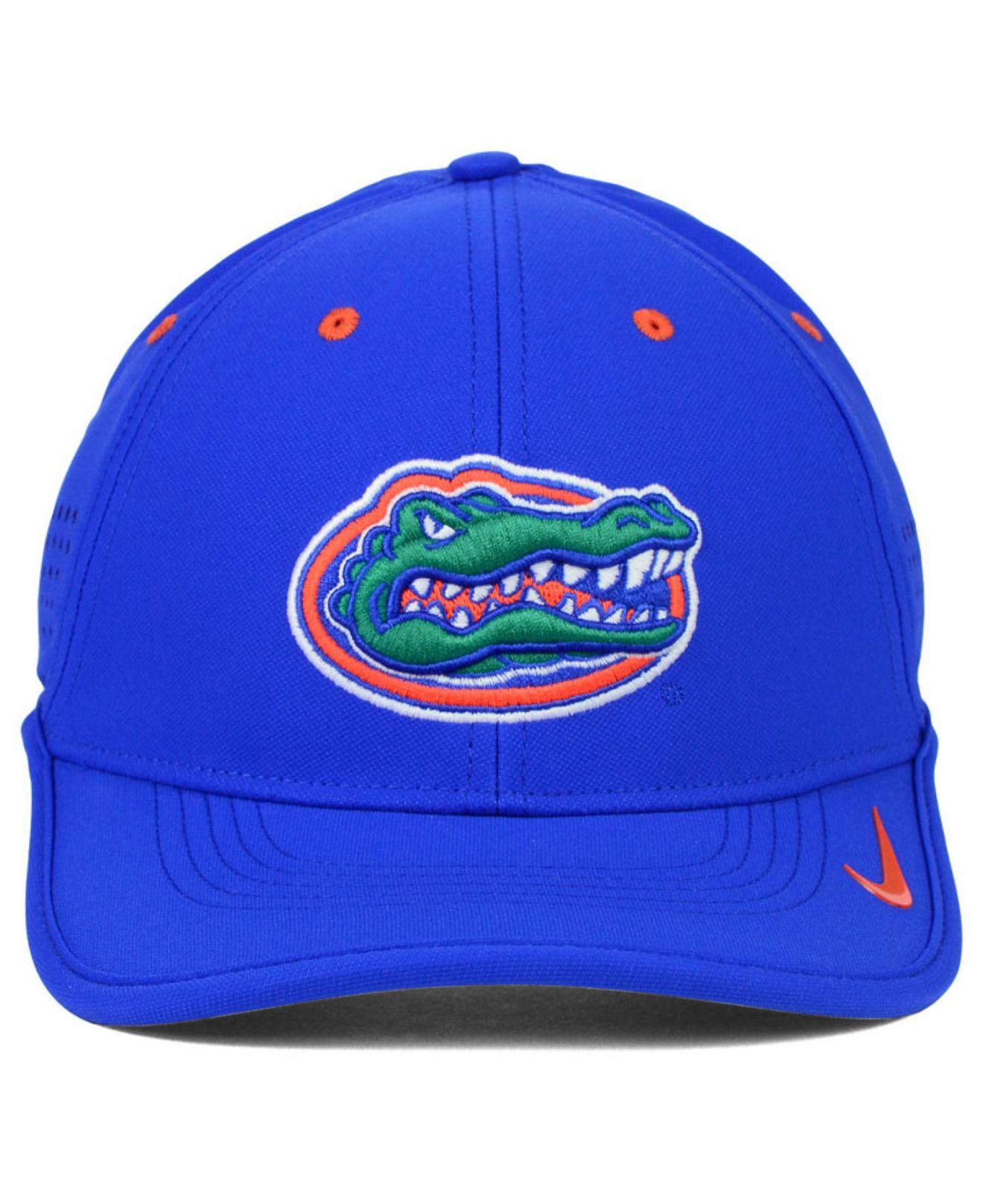 reputable site 602d8 96a53 ... inexpensive lyst nike florida gators dri fit coaches cap in blue for  men 889bb bea94