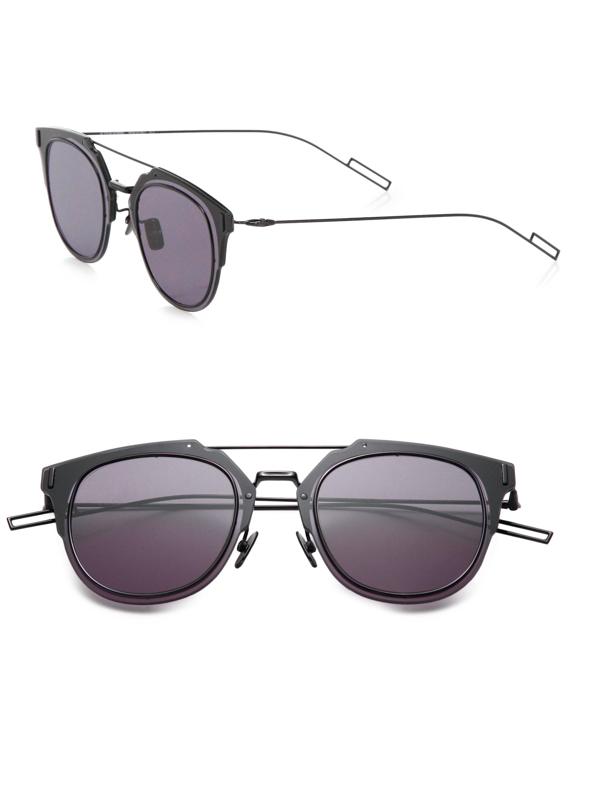 eef9ee6aa1 Lyst - Dior Homme Composit 1.0 Sunglasses in Black for Men