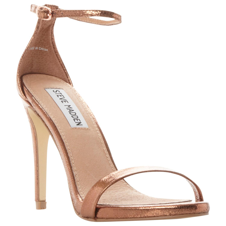 321bad622f2 Steve Madden Stecy Stiletto Sandals in Brown - Lyst