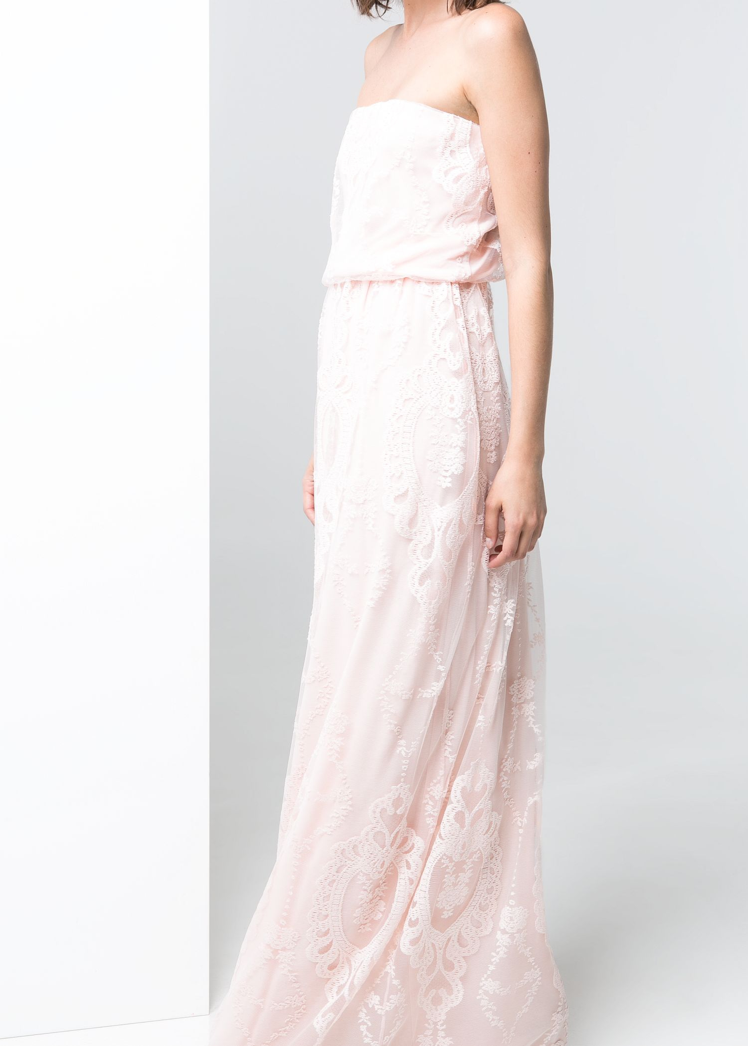 Lyst - Mango Tulle Gown in Pink
