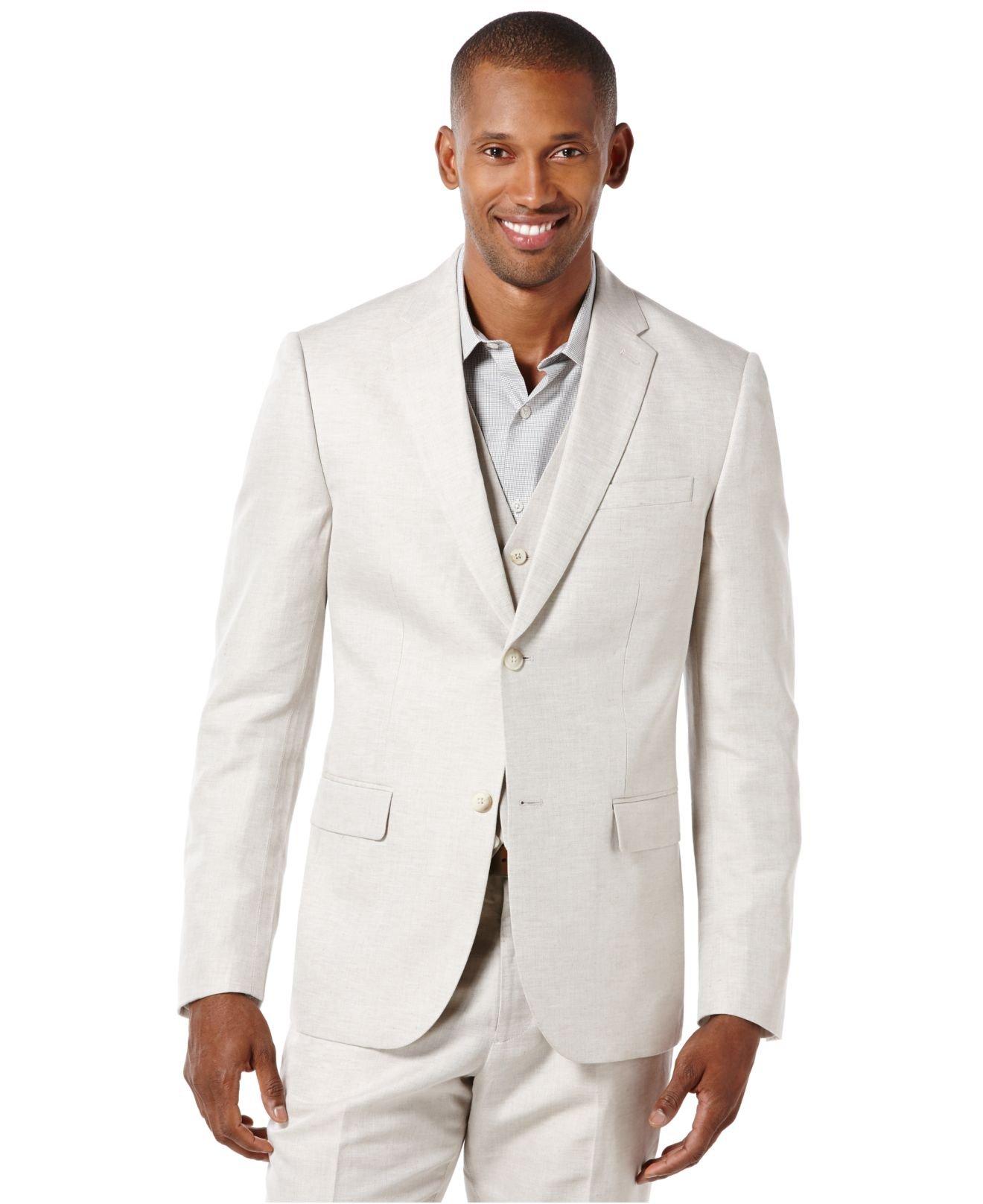 Natural Cotton Sport Coat Big