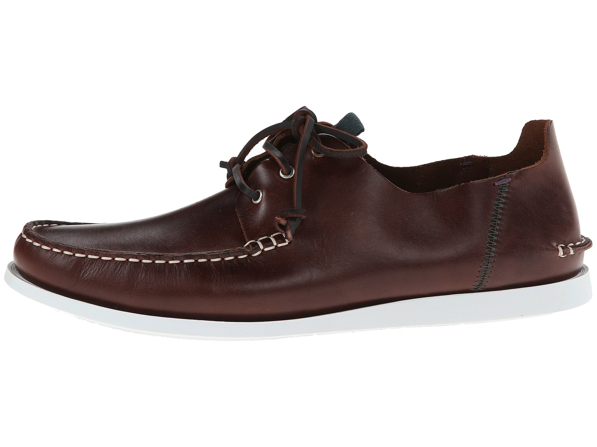 63a4a5f4b7b Lyst - Paul Smith Jeans Dagama Boat Shoe in Brown for Men
