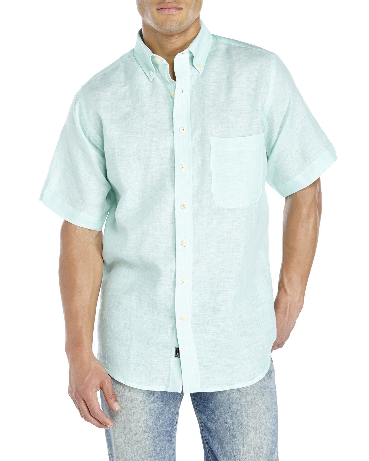 Mens Linen Shirts Stay cool and look sharp in our men's linen shirts designed specifically for beach weddings. Choose from long sleeve, short sleeve, or French cuff styles.