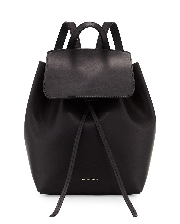 Mansur Gavriel Vegetable-tanned Leather Mini Backpack in ...