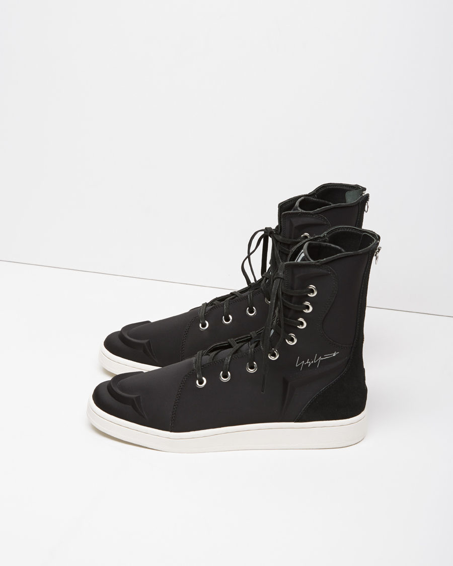 Yohji Yamamoto Canvas High-Top Sneakers find great latest cheap price discounts cheap price official site sale online 4MEZ8tGKN