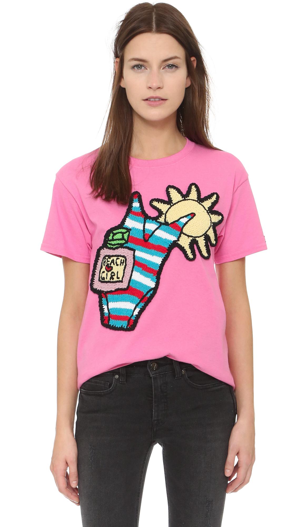 Womens T Shirts Worlds Okayest Mom Cozy Crew Neck Beach Short Sleeve Tops