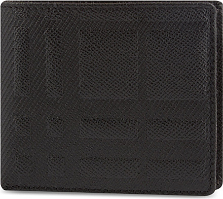 Burberry Embossed Wallet