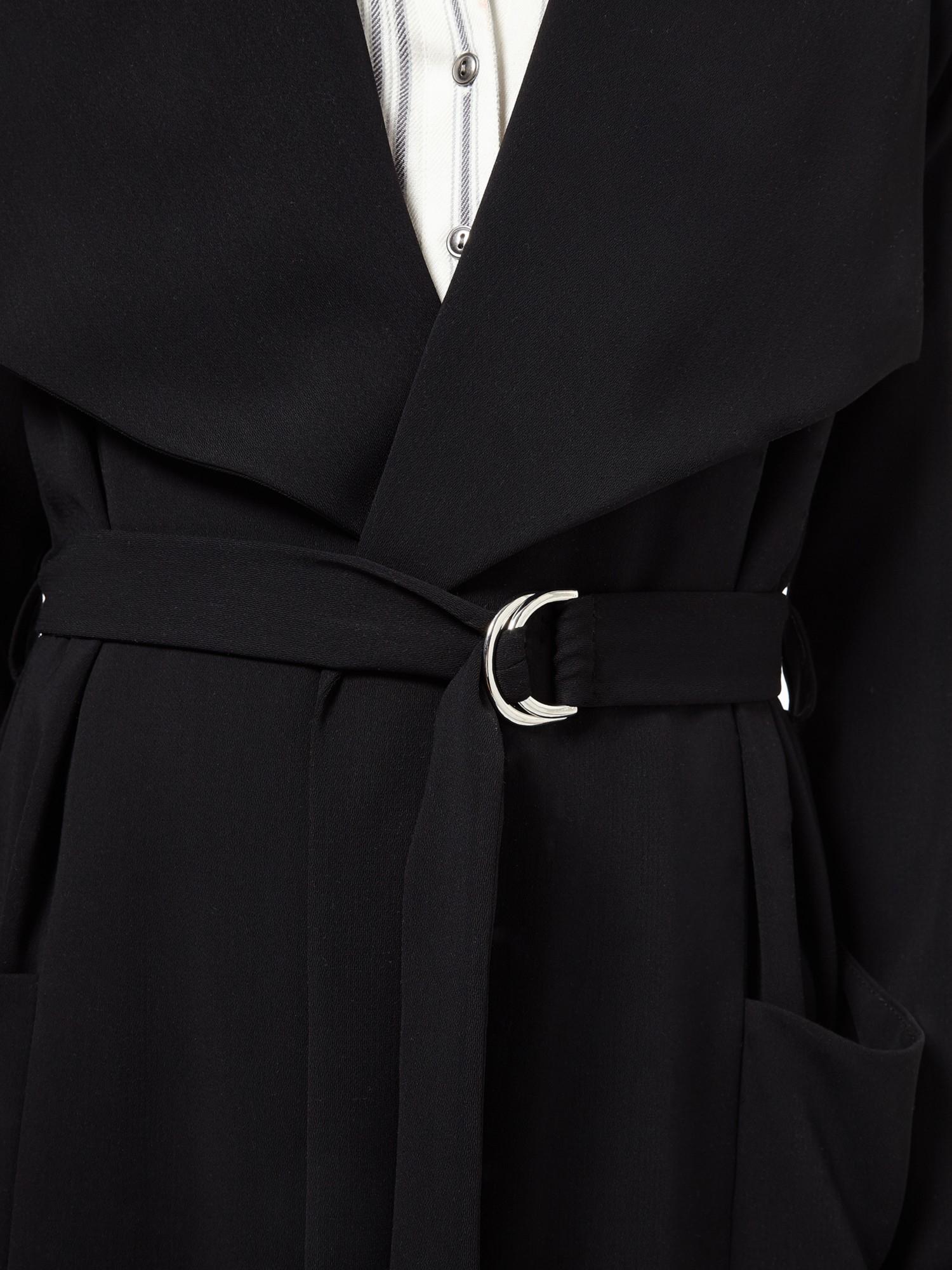 Miss Selfridge Faux Leather Jacket Black Women Clic Fashion Trend Luxury Brands