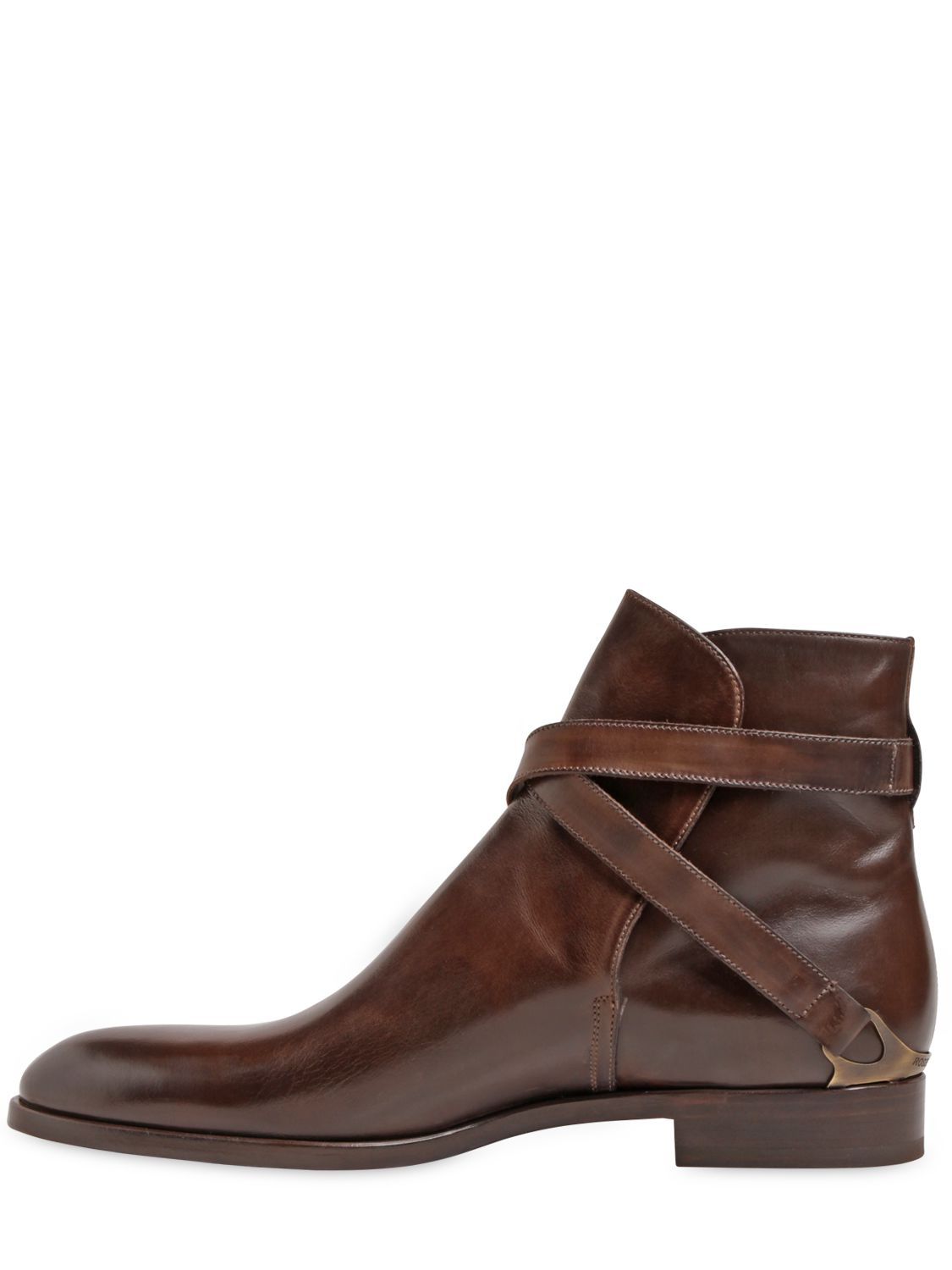 Fratelli Rossetti Leather Ankle Boots Ql14n