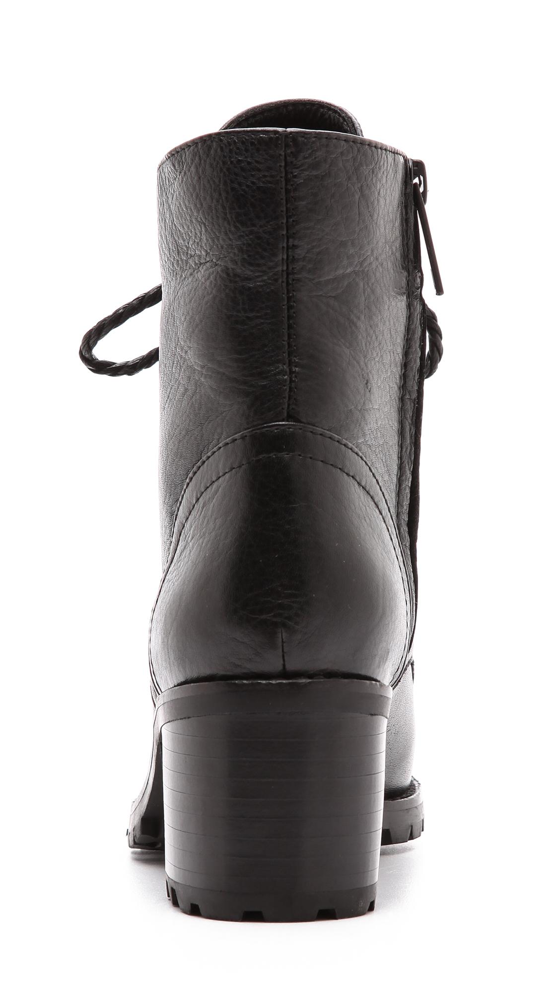 Joie Asbury Combat Boots - Black