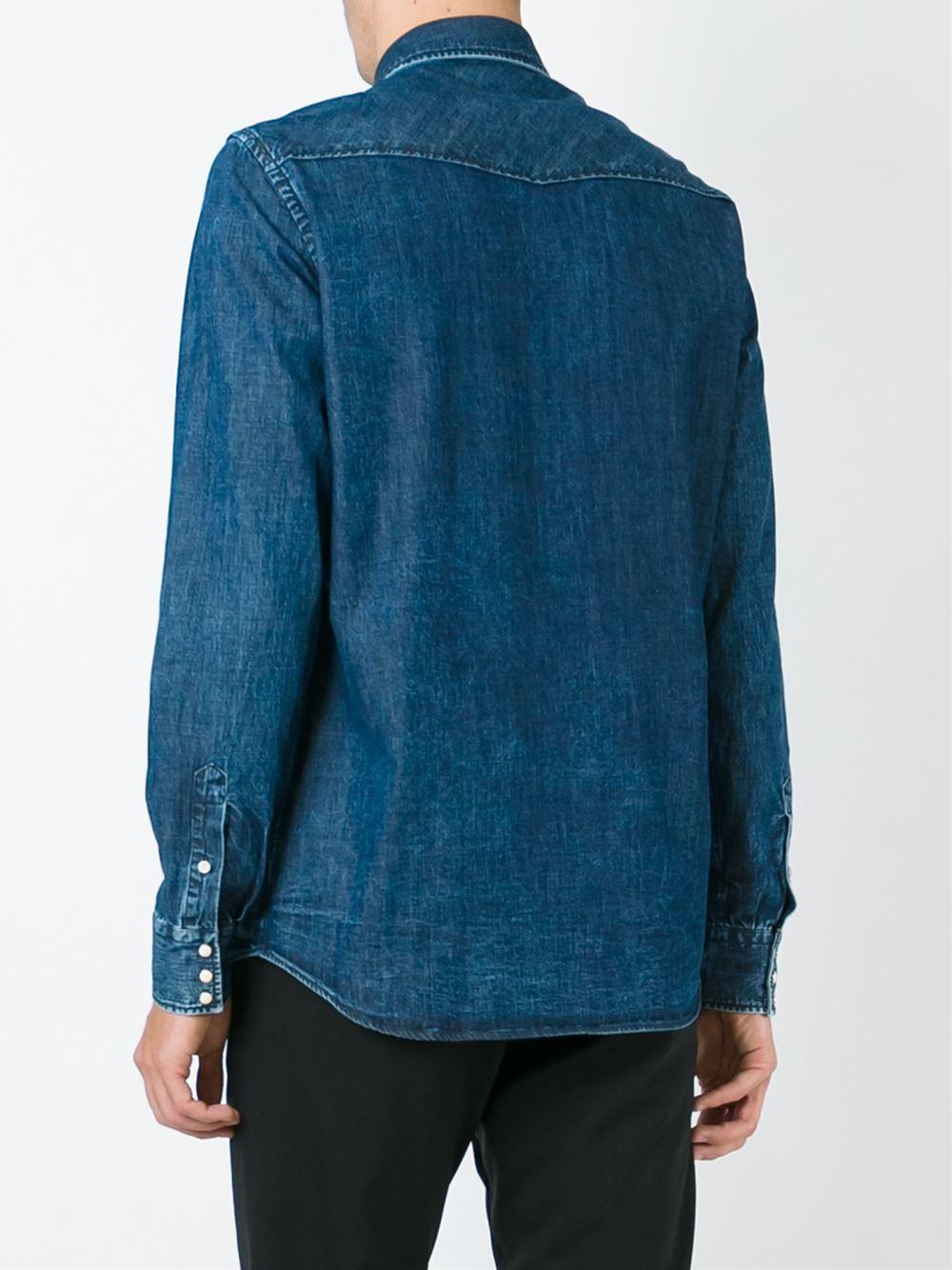 denim shirt pockets - photo #32