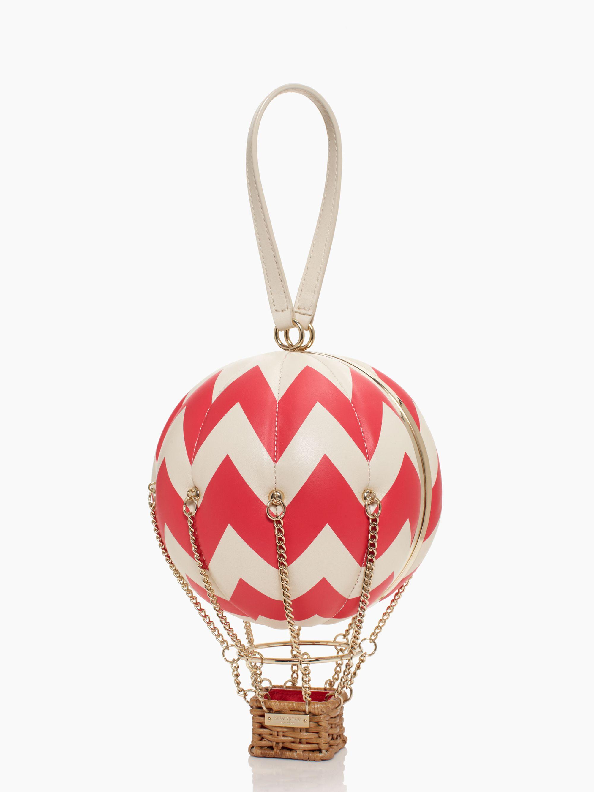 Kate Spade New York Flights Of Fancy Balloon Bag In Red Lyst
