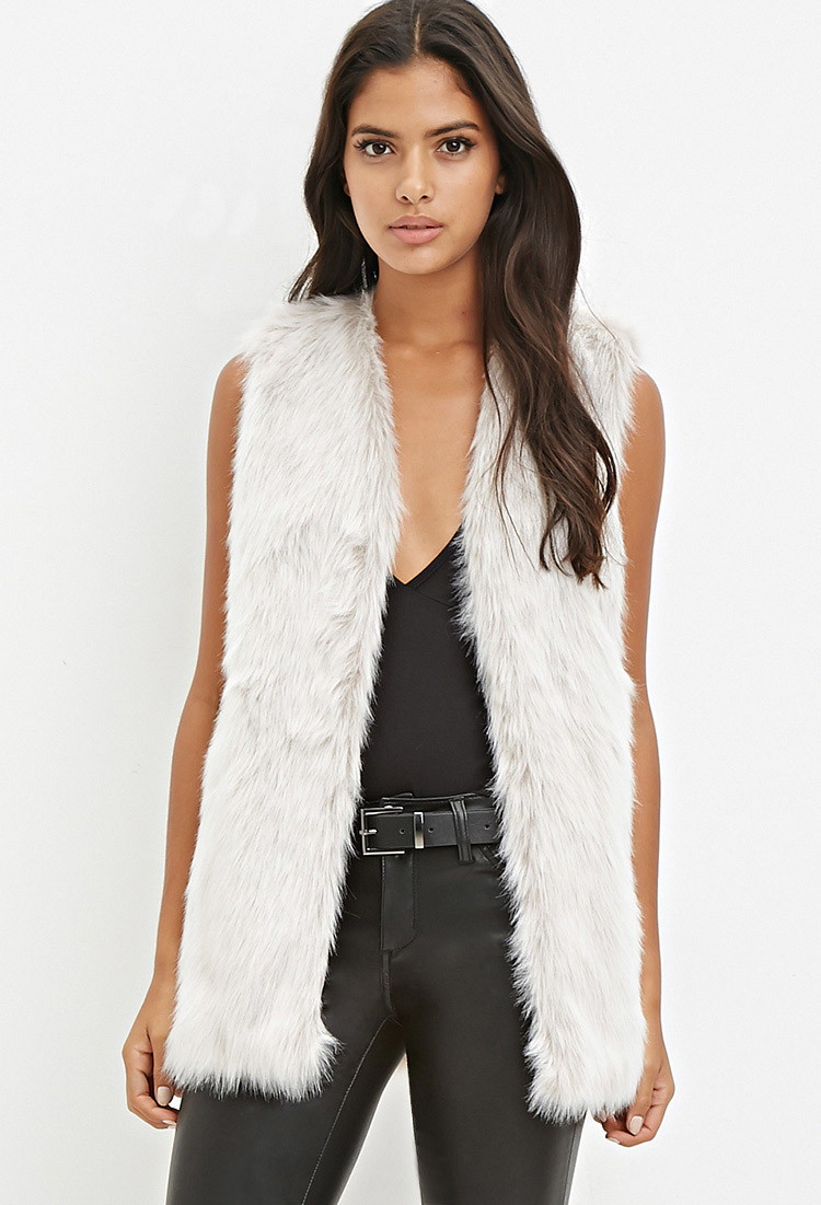 Get the best deals on faux fur vest forever 21 and save up to 70% off at Poshmark now! Whatever you're shopping for, we've got it.