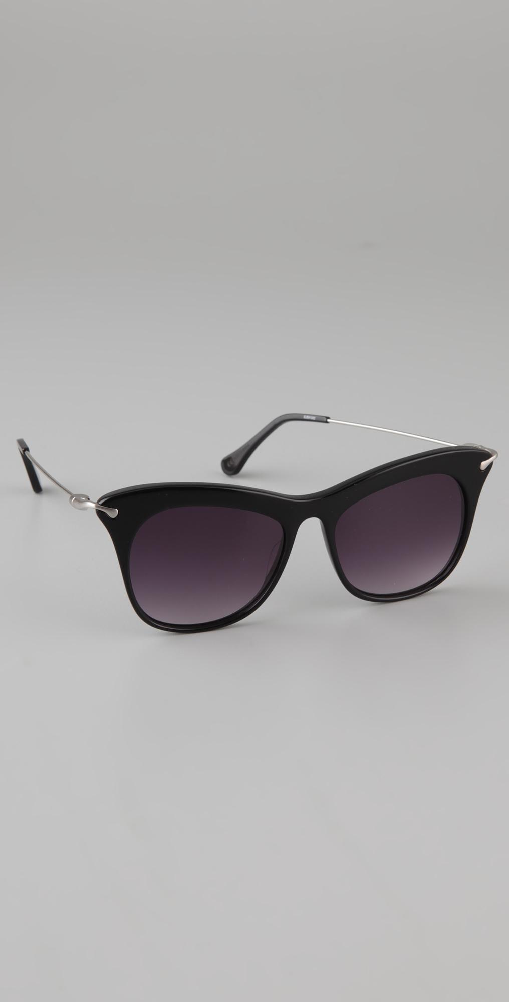 Elizabeth And James Fairfax Sunglasses In Black Lyst