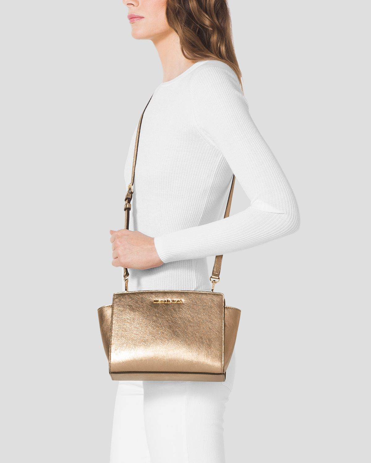 5a41d2cbb9bd Gallery. Previously sold at  Bloomingdale s · Women s Michael By Michael  Kors Selma