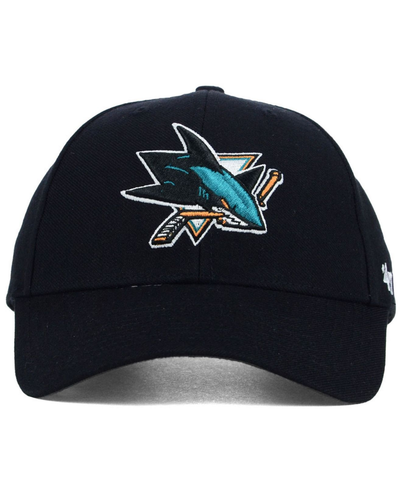 47brand San Jose Sharks Mvp Curved Adjustable Cap Fanartikel