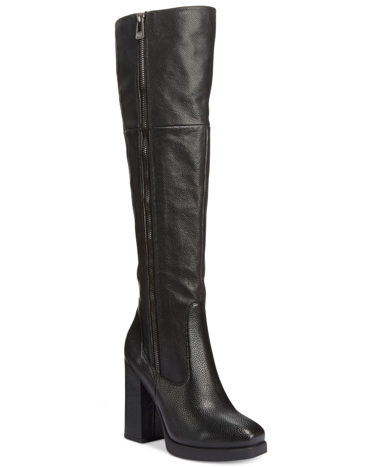 circus by sam edelman hollands knee high dress boots in black