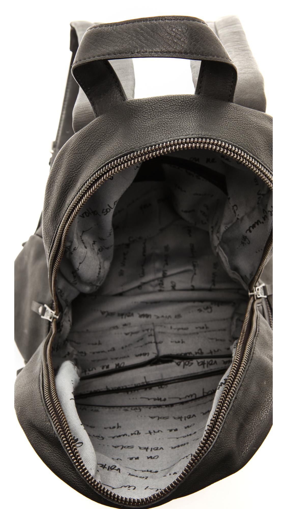 Ash Chain Backpack - Black