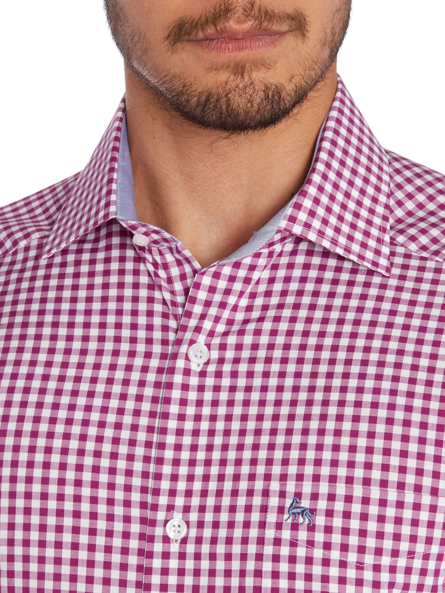 Magee Dress Collar Shirt In Pink For Men Lyst