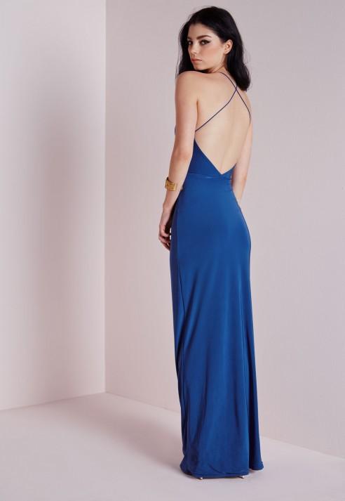 Cobalt Blue Maxi Dresses