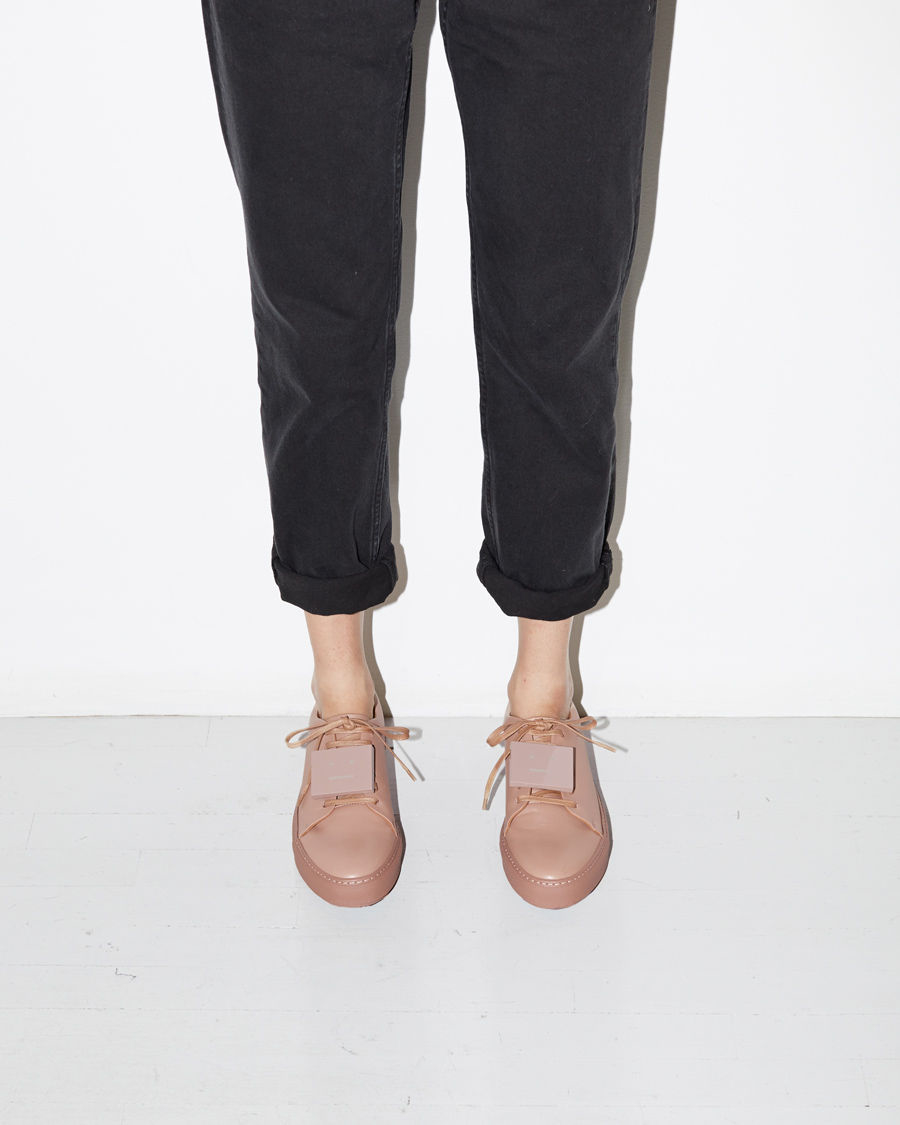 Adriana TurnUp leather sneakers Acne Studios 2kPrzfG