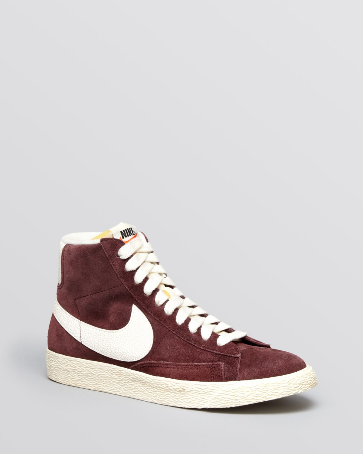 Lyst - Nike Lace Up High Top Sneakers - Women S Vintage Suede Mid ... 2aa11f4e9