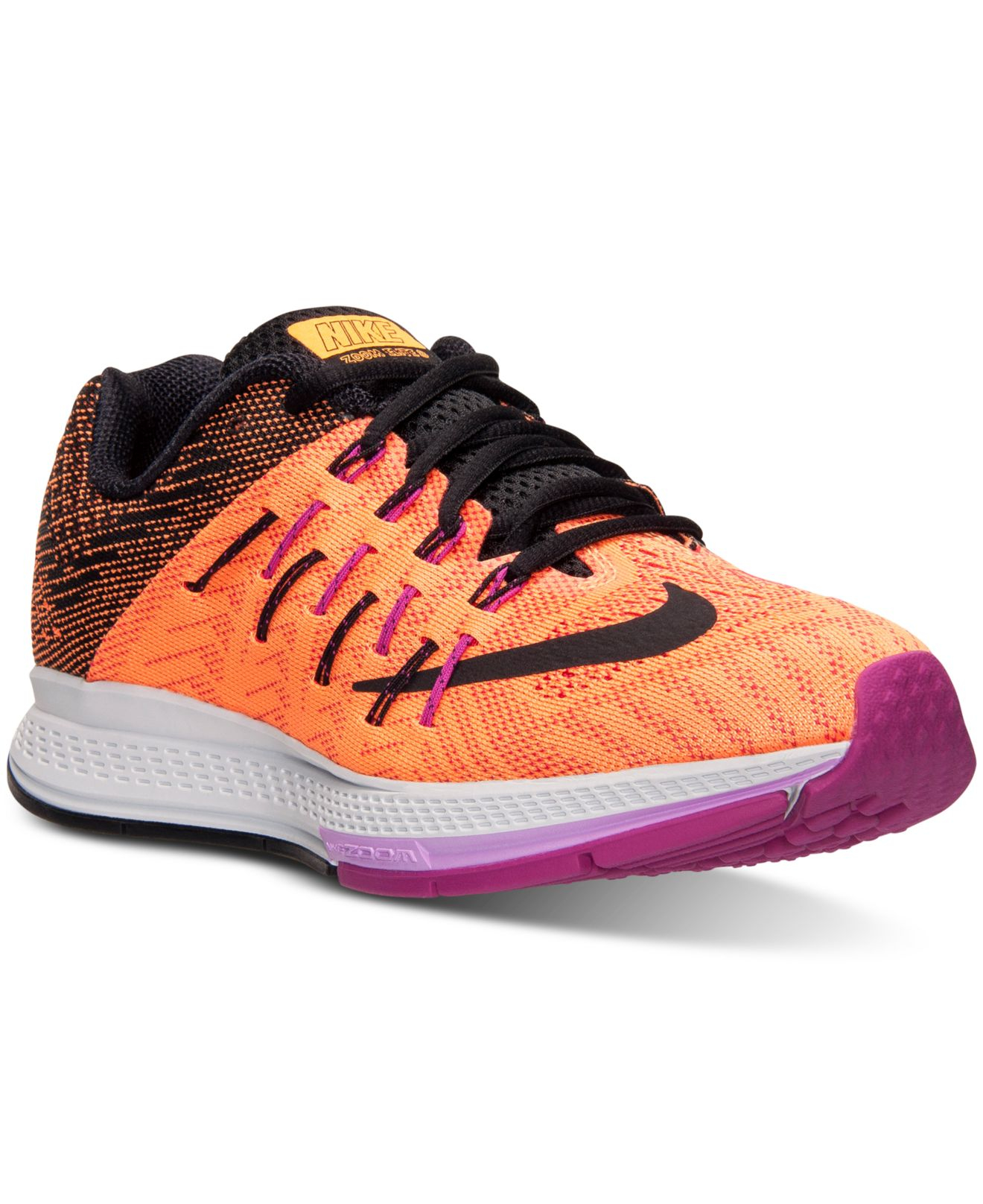 712b51071 Lyst - Nike Women s Air Zoom Elite 8 Running Sneakers From Finish ...